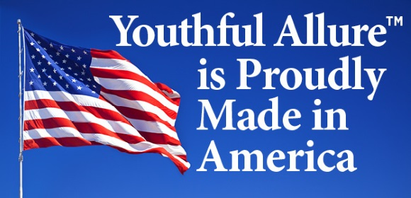 [Youthful Allure is Proudly Made in America]